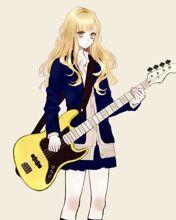 20 Best Anime Bass Guitar Images スケッチ アニメの女の子