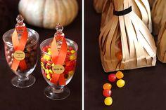 Halloween Harvest Treats Table - Celebrations at Home
