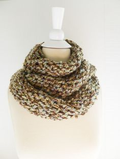 2013 fashion Infinity Knitting Warmer scarfChunky  by PIPPADUSHES, $19.00
