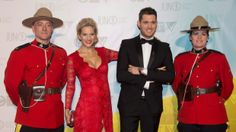 At Juno awards in Regina Sunday 21/04/2013. Lui pregnant.