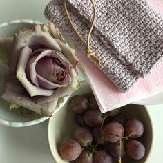Inspireret af faded lilla, rosa og guld.....langt om længe