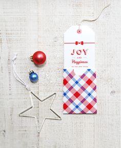 FREE Holiday Greeting Tag and Pocket