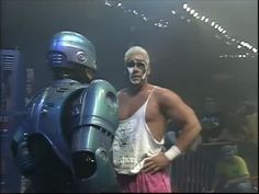 WCW Capitol Combat 1990 Sting and Robocop