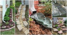10 idei pentru amenajarea sistemelor de colectare a apei de ploaie din curte