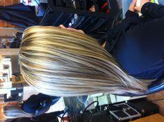 Great blonde hair. Www.alexcrabtreehairstylist.blogspot.com
