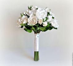 Wedding bouquet / Свадебные цветы ручной работы. Ярмарка Мастеров - ручная работа. Купить Букет невесты из полимерной глины