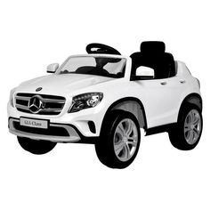 Mercedes Mercedes GLA Ride On 12 Volt Car Working Lights MP3 And Sounds White