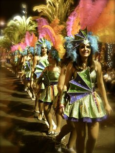 Last night I attended my first ever 'Carnaval' in Funchal, Madeira. Mardi Gras, Festivals, Captain Hat, Costumes, Wood, Carnival, Dress Up Clothes, Concerts, Costume