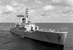 Galatea 1964 Royal Navy Frigates, Rule Britannia, Panama Canal, Royal Marines, Navy Ships, Battleship, Cold War, Warfare, Military