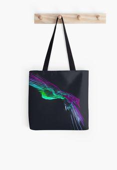'The Freedombird No.12' All Over Print Tote Bag, print design by Asmo Turunen. #design #totebag #shoppingbag #atcreativevisuals #kestokassi