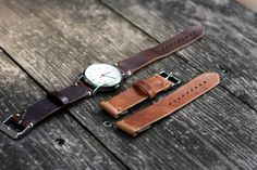 Two Piece Watch Strap in Natural Dublin - Album on Imgur