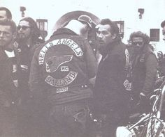 "Ralph ""Sonny"" Barger of the Oakland Hells Angels Motorcycle Club"