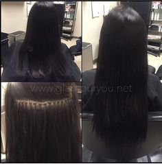 Microlink hair extensions at www.glamouryou.net #dmv #hair #extensions #strandbystrand #glamyourhair #extensionsbygina #microlinks #microlinkhairextensions #microbeads