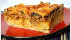 Zapiekanka a'la tortilla hiszpańska Frittata, Lasagna, Chili, Breakfast, Ethnic Recipes, Food, Spanish Omelette, Food Cakes, Morning Coffee