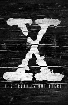 The X-Files (1993–2002) - Minimal TV Poster by Bill Pyle #amusementphile