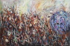 Wild flowers II/ painting, acrylic on canvas