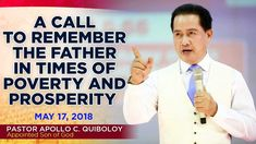 'A Call to Remember the Father in Times of Poverty and Prosperity' by Pa... Spiritual Enlightenment, Spirituality, Son Of God, Apollo, Worship, Father, March, Times, Words