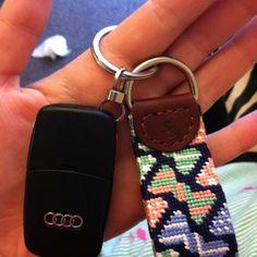 Smathers & Brandon bowtie keyfob. I love my Auburn one :)