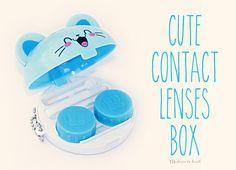 Cute Contact Lenses Box!