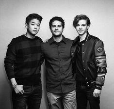Thomas, Ki Hong, and Dylan in Korea