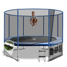 🤸8x12ft Oval Trampoline - Oz Trampolines Trampoline Safety, Trampolines, Frame Sizes, Galvanized Steel, Bunk Beds, Things That Bounce, Double Bunk Beds, Bunk Bed