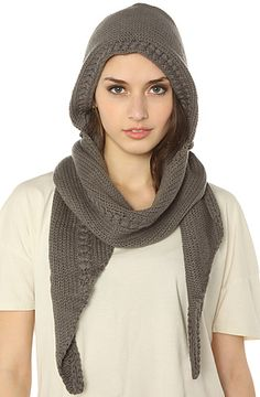 The Jive Scarf in Dark Gull Grey by Vans