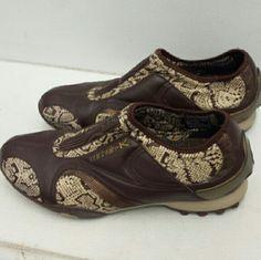 MK shoe leather MK shoe size 8.5 Michael Kors Shoes Athletic Shoes