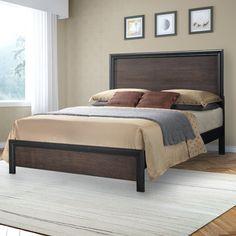 CorLiving Lakeport Panel Bed & Reviews | Wayfair
