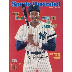 Dave Winfield New York Yankees Fanatics Authentic Autographed Who Hit the Jackpot Sports Illustrated Magazines - $149.99