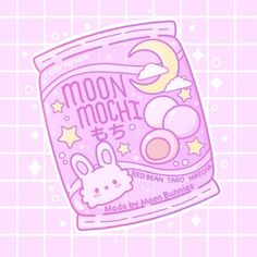 Faith Varvara — Little pack of moon Mochi 💕🌙 Cute Food Drawings, Cute Cartoon Drawings, Cute Kawaii Drawings, Kawaii Doodles, Cute Doodles, Cute Animal Drawings, Kawaii Art, Kawaii Names, Japon Illustration