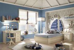 Arredare casa in stile marinaro - Arredi stile marinaro in cameretta