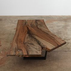 Urban Hardwoods ebonized maple coffee table