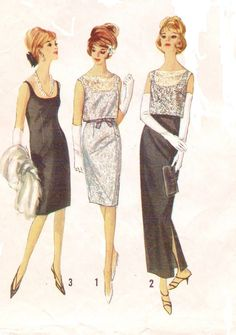 Vintage 60s Simplicity Sewing Pattern 5698 Womens by CloesCloset, $18.00