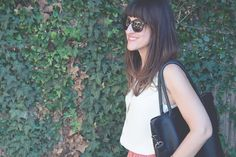Ashley from Hither & Thither loves her Daame laptop tote