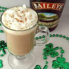 Baileys Irish coffee recipe - All recipes UK Baileys Drinks, Baileys Recipes, Irish Recipes, Irish Cream Coffee, Baileys Irish Cream, Irish Coffee Baileys, Coffee Drink Recipes, Coffee Cocktails, Alcohol Recipes
