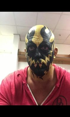 Goldust Dustin Rhodes, Carnival, Halloween Face Makeup, Skull, Wrestling, Painting, Art, Lucha Libre, Art Background