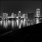 Black and white photography Saint Petersburg FL