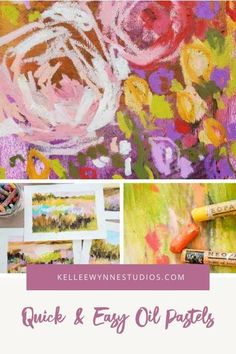 What's fun about oil pastels is that you can jump right in and start combining colors to see what you love the most. This art course and many more will help you be your best creative self! #colorwithkellee LIVE every Tues at 2pm 🤗 Don't miss the $27 color course available now! 🌈#kelleewynnestudios #kelleewynne #makemoreart #artcourses #artcoursesonline #artpainting #originalart #originalartwork Oil Pastel Paintings, Oil Pastel Art, Oil Pastels, Color Wheel Lesson, Online Art Courses, Mixed Media Artwork, Large Painting, New Artists, Color Theory