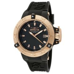 Invicta Women's 10132 Subaqua Noma III Black Dial Black Silicone Watch Invicta. $159.93. Water-resistant to 200 M (660 feet). Black dial with rose gold tone hands and hour markers; luminous; unidirectional 18k rose gold ion-plated stainless steel bezel and screw-down crown with protective clasp. Flame-fusion crystal; 18k rose gold ion-plated stainless steel case; black silicone strap with logo. Swiss quartz movement. Date window at 3:00