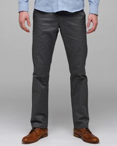 4a0c3525f962 Weekender Pant In Grey by RVCA - Alternative to denim on the weekends.  49