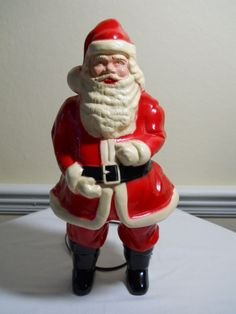 We had this Santa at our house when I was growing up, that my grandma passed on to us. I would love to have it now.