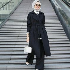 Turkish Fashion, Islamic Fashion, Muslim Fashion, Modest Fashion, Fashion Outfits, Hijab Chic, Casual Hijab Outfit, Hijab Evening Dress, Hijab Style Tutorial