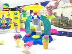 Making the Toys Kids by using Clay - The products of Playdoh.