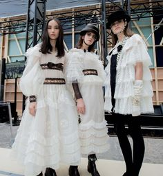 Chanel FW 2016 Collection at Paris Fashion Week by Kevin Tachman for Vogue Magazine