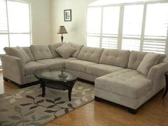 very comfortable sectional couch