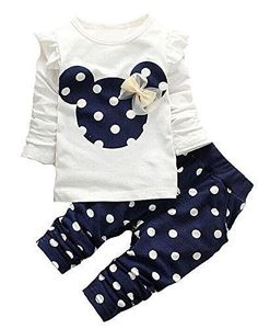 Retail 2017 Spring Autumn cartoon baby girls clothing sets baby kids clothes set girls clothing set children t shirt+pant suit Kids Outfits Girls, Toddler Girl Outfits, Toddler Fashion, Kids Fashion, Toddler Girls, Kids Girls, Toddler Dress, Korean Fashion, Tops For Leggings