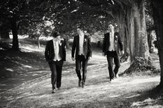 Real Weddings by KARA: A Jazzy Wedding at Kilshane House, Co. Tipperary — Weddings By Kara Tipperary Ireland, Garden Party Wedding, July Wedding, Groom And Groomsmen, Wedding Suits, Kara, Rainbow Colors, Real Weddings, Walking