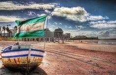 Cádiz.La caleta playa