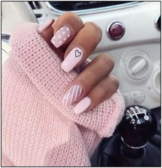 Pretty nails shine on your fingertips to give you a cool summer . - Pretty nails shine on your fingertips to give you a cool summer – nAiLs – - Summer Acrylic Nails, Best Acrylic Nails, Acrylic Nail Designs, Summer Nails, Pretty Nails For Summer, Pink Nail Designs, Spring Nails, Stylish Nails, Trendy Nails