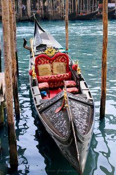 Art Photography Gondola in Canal in Venice, Italy Venezia Italia Italy Travel Tips, Travel Destinations, Travel Europe, Gondola, Visit Venice, Destination Voyage, Romantic Places, Travel Photos, Travel Articles